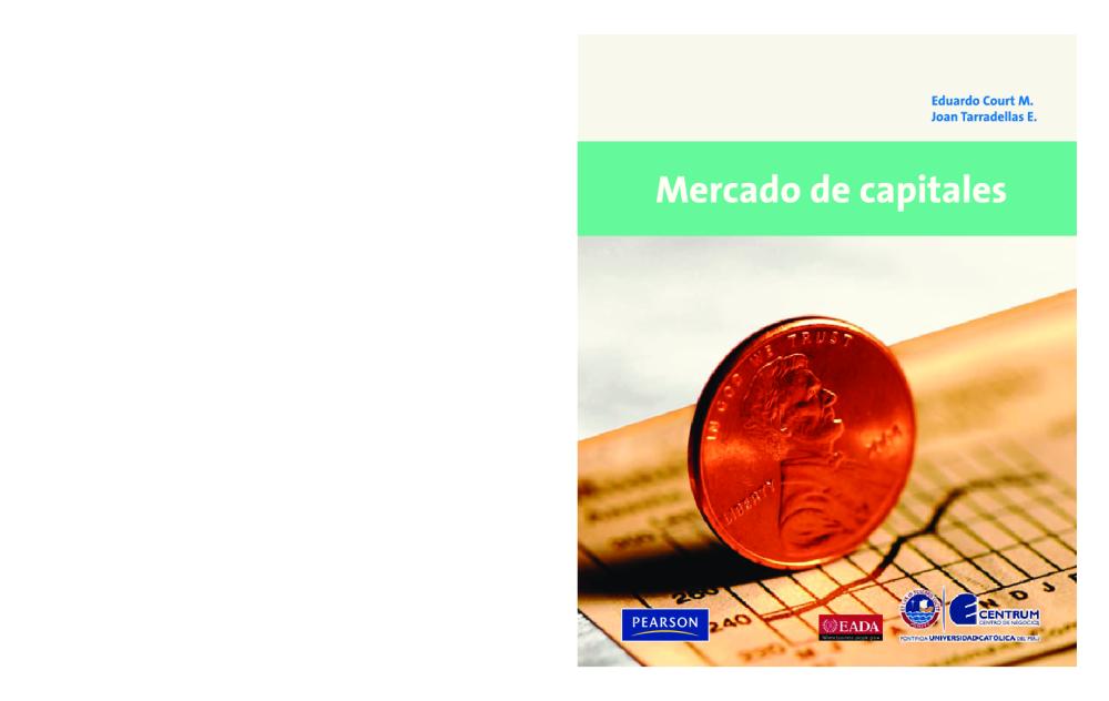 Mercado de Capitales - Eduardo Court y Joan Tarradellas ...