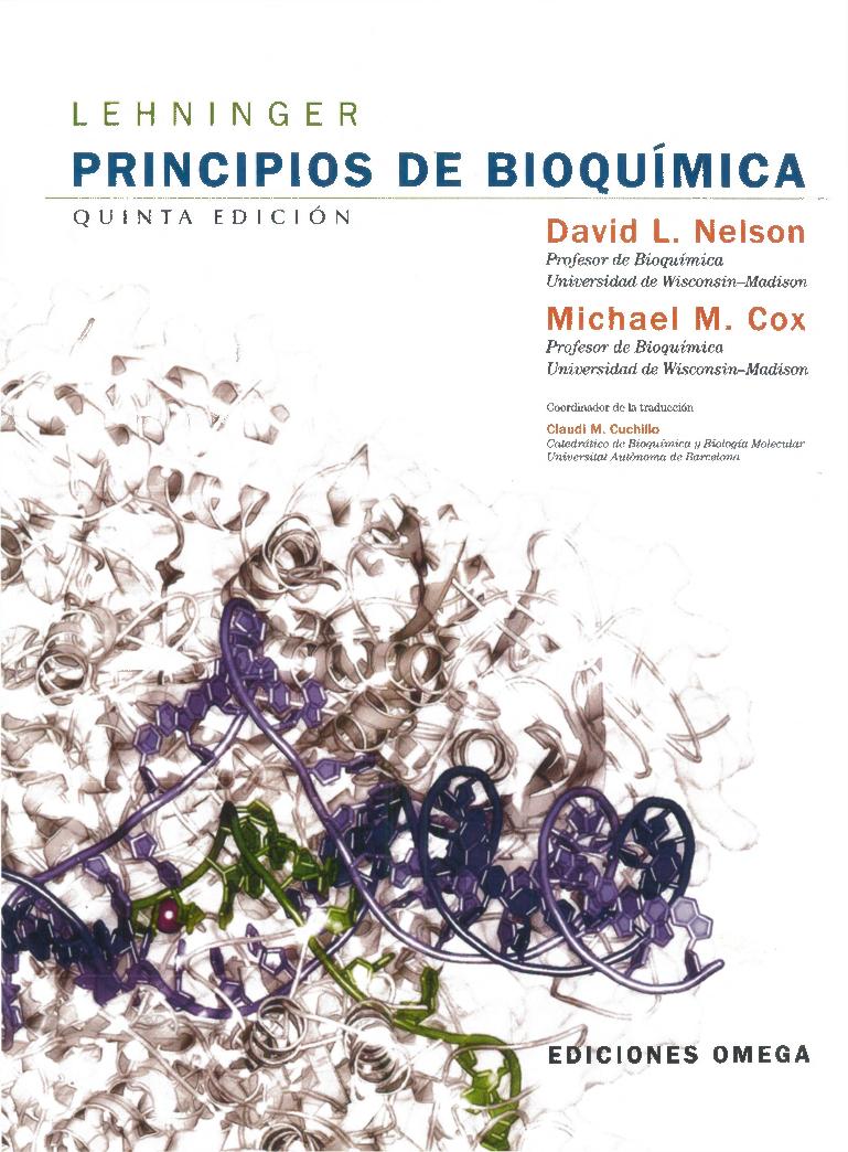 Principios De Bioquimica Lehninger 5ta Edición Pdf Docer Com Ar
