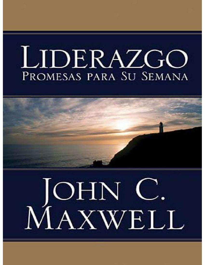 John Maxwell Liderazgo Pdf Docer Com Ar