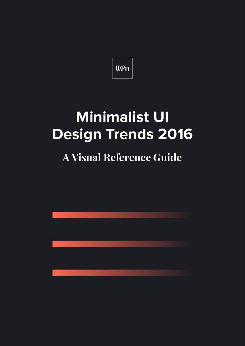 Minimalist UI Design Trends 20   UXPin   pdf Docer.com.ar