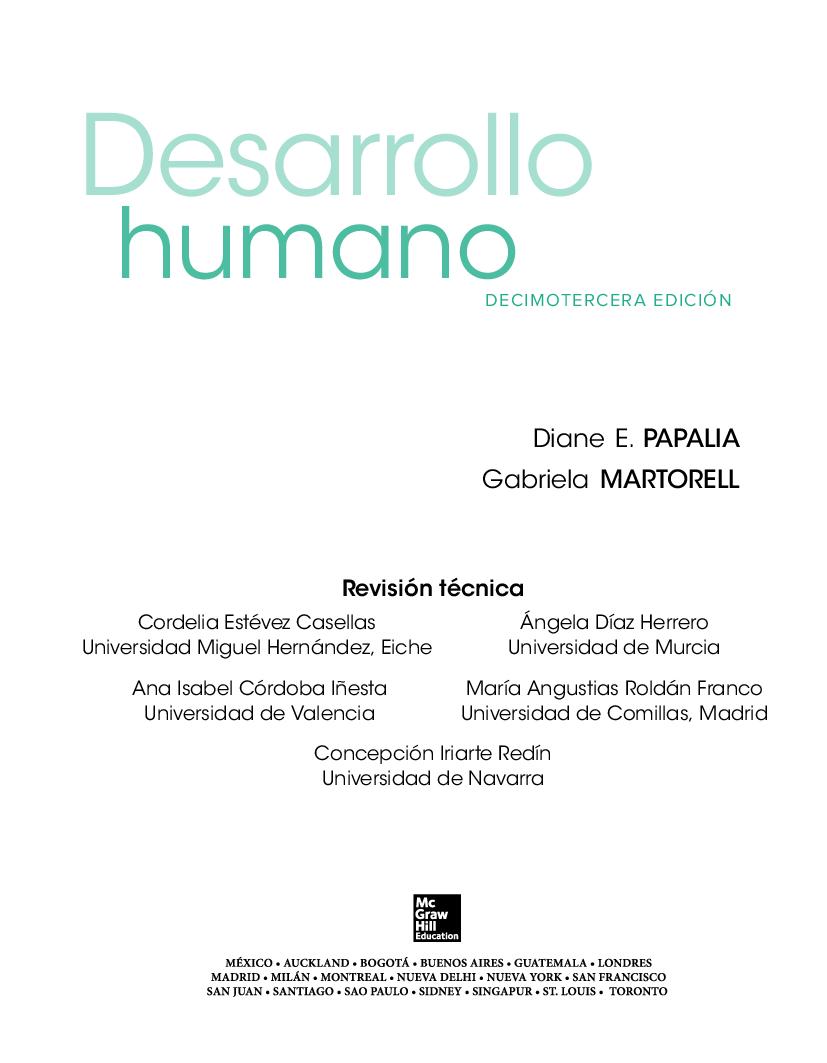 Papalia Martorell Desarrollo Humano 13 Ed Pdf Docer Com Ar