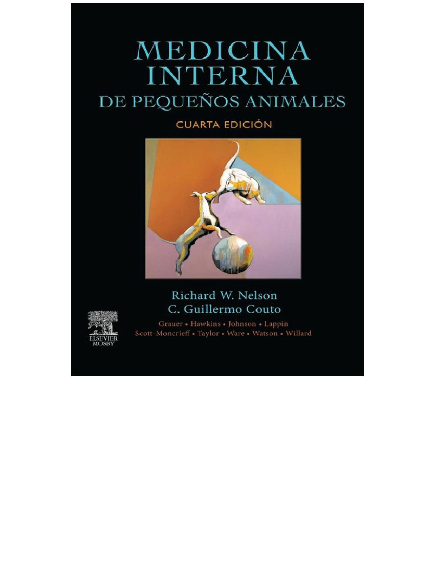 medicina interna de pequeños animales couto pdf gratis